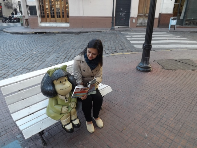 Mafaldinha! <3
